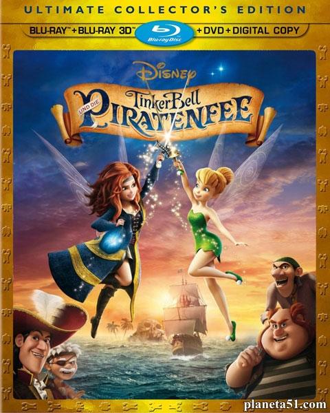 Феи: Загадка пиратского острова / The Pirate Fairy (2014/BDRip/HDRip)