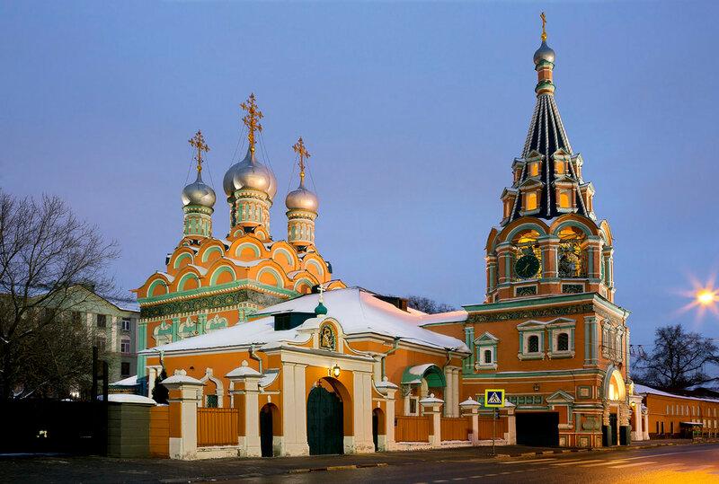 Храм на Большой Полянке.
