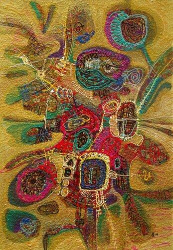 Колотвина Марина Древо желаний I. 1998. 75,7 х 52,1. Картон, акрил.jpg