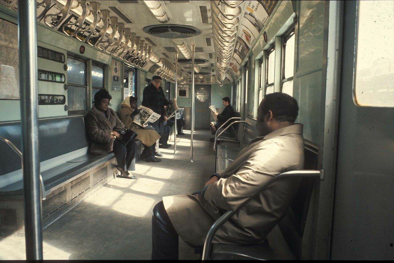 Южный Бронкс. Сабвэй №2. 1970.
