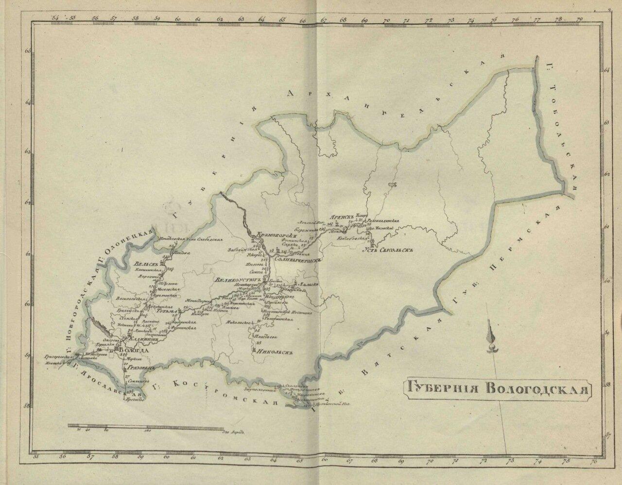 2.Вологодская губерния