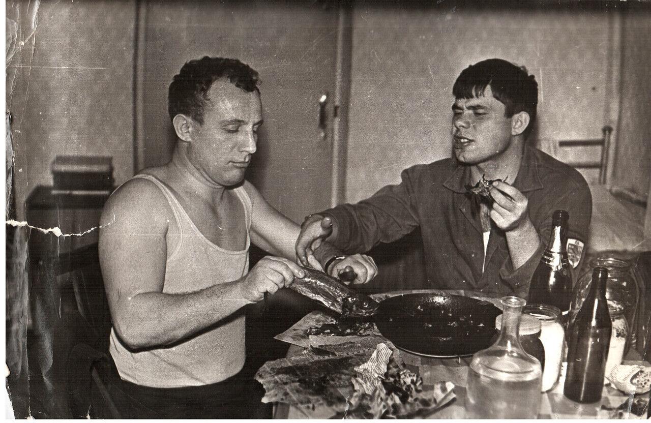 1971. Студенты Киевского госуниверситета
