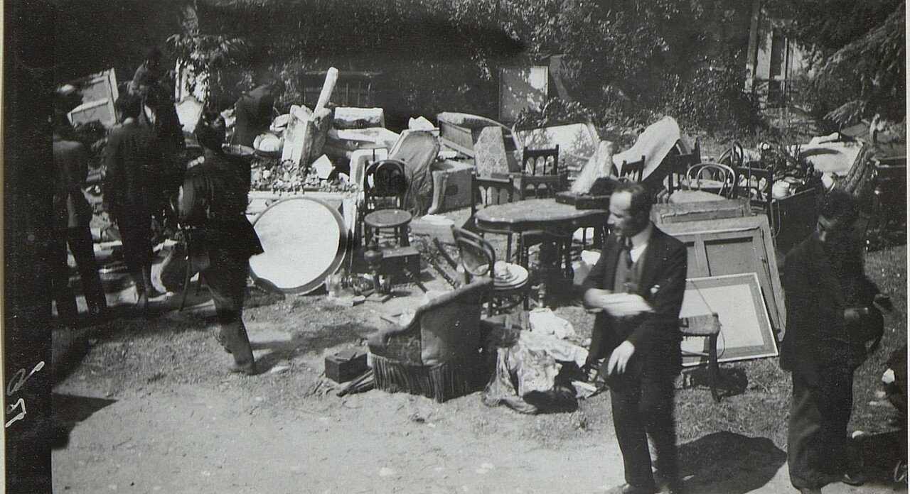 Bilder vom Riesenbrand in Stambul. (August 1918.)