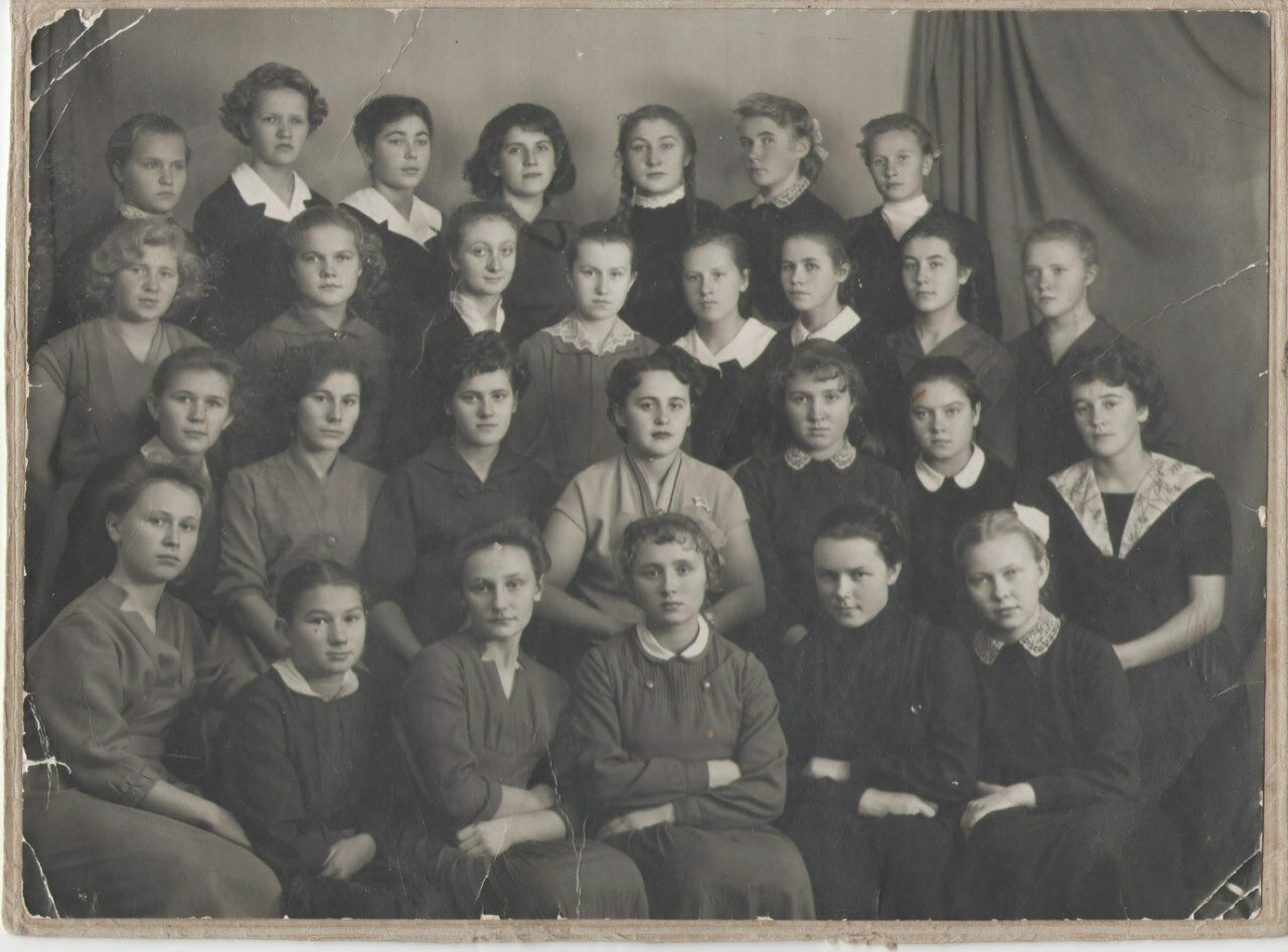 1962. Медучилище. Вологда