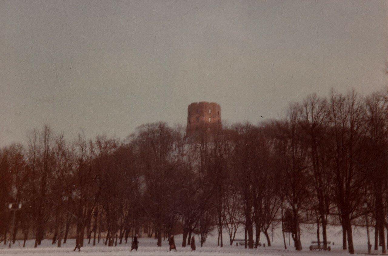 Вильнюс. Башня Гедимина