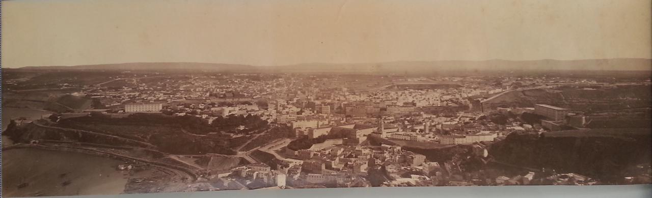 Панорама города. 1880