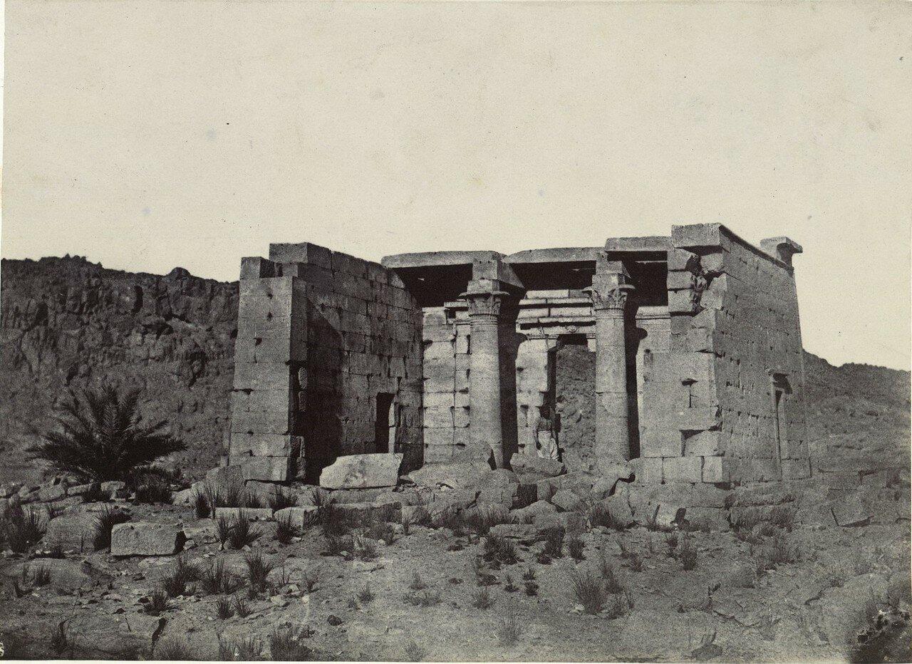 Вид на храм из Тафиса. 1849