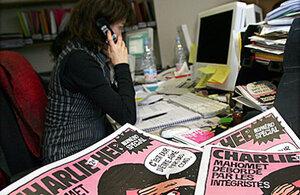 Тиражом в 5 млн разошелся новый выпуск журнала Charlie Hebdo