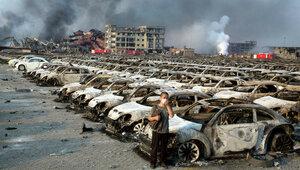 В Китае арестовали 12 человек по делу о взрыве в Тяньцзине