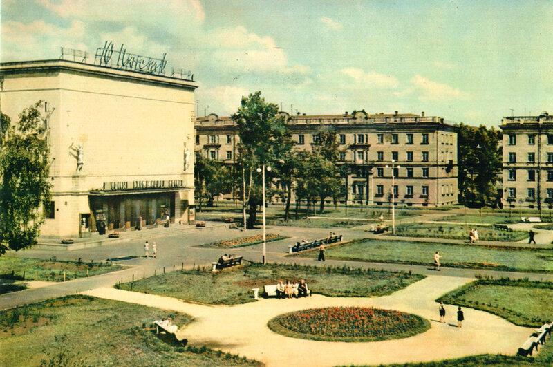 053 Улица Савушкина. Кинотеатр Юность.jpg