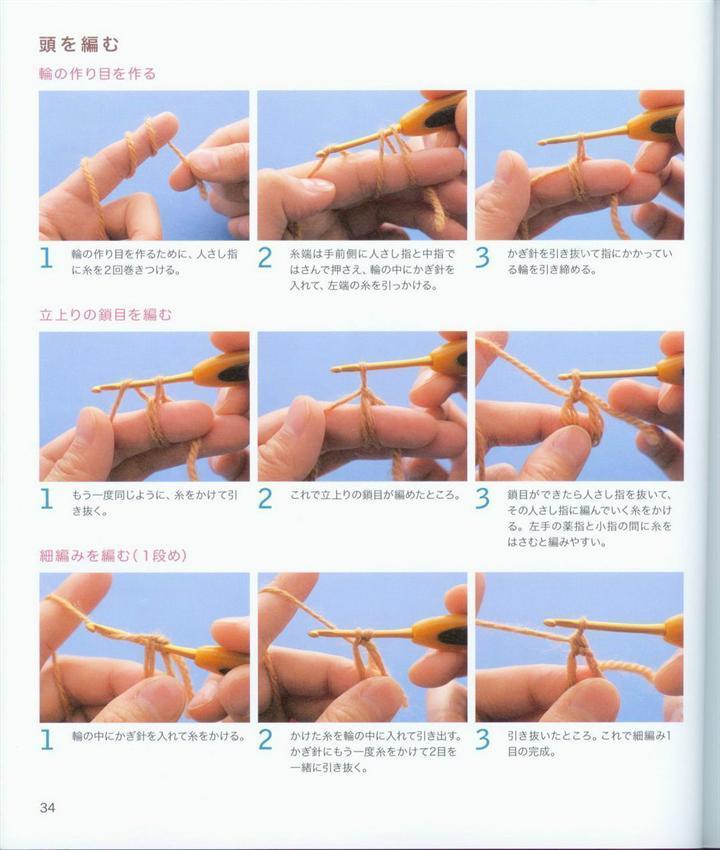 Как научится вязать амигуруми