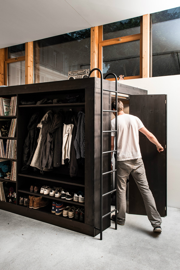 Компактная мебель - Жилой куб