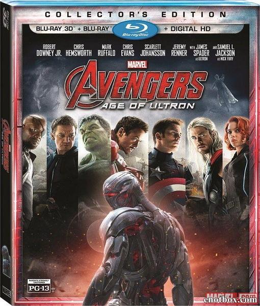 Мстители: Эра Альтрона / Avengers: Age of Ultron (2015/BDRip/HDRip/3D)