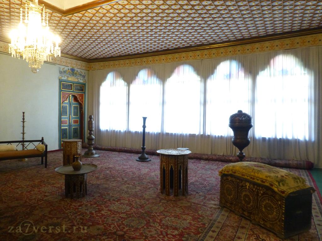 Бахчисарайский музей, интерьеры ханского дворца
