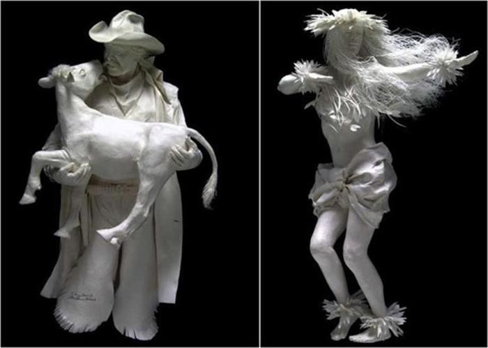 Удивительные скульптуры из бумажной массы 0 115b6e 8b7f12f9 orig