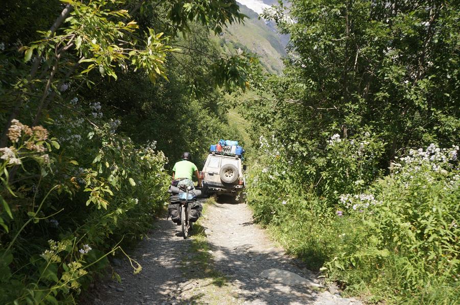 Велопоход по Грузии 2015