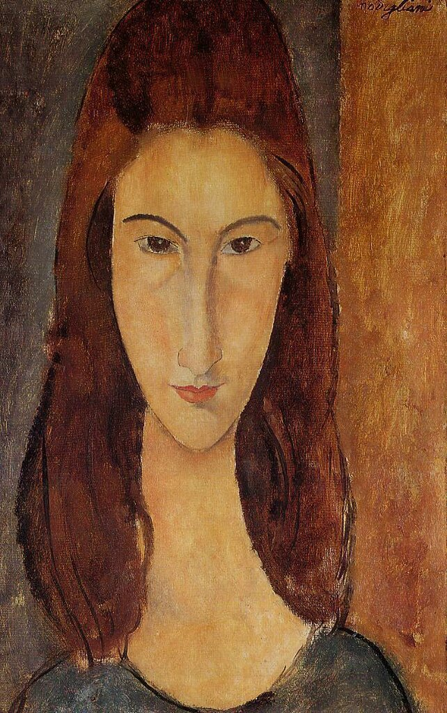 Jeanne Hebuterne - 1917-1918 - Private collection - Painting - fresco.jpeg