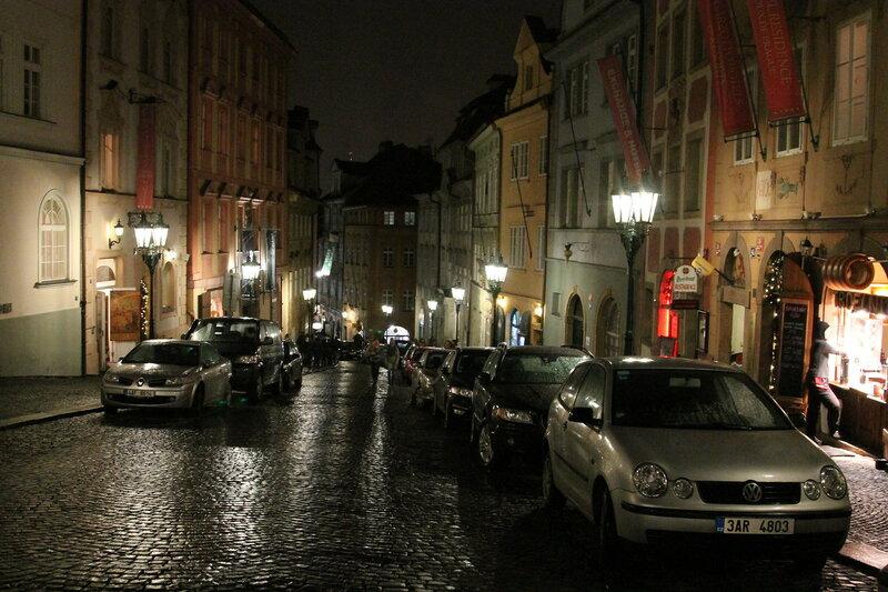 Улицы Праги