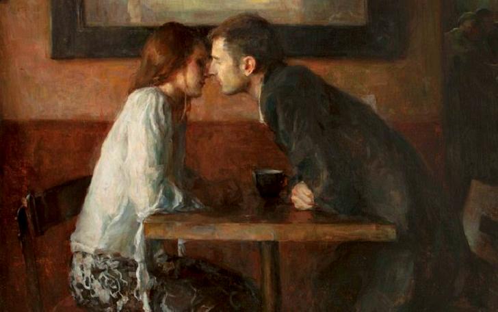 Реальная любовь в полотнах Рона Хикса (14 фото)