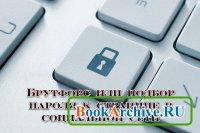 Книга Брутфорс или подбор пароля к странице в социальной сети
