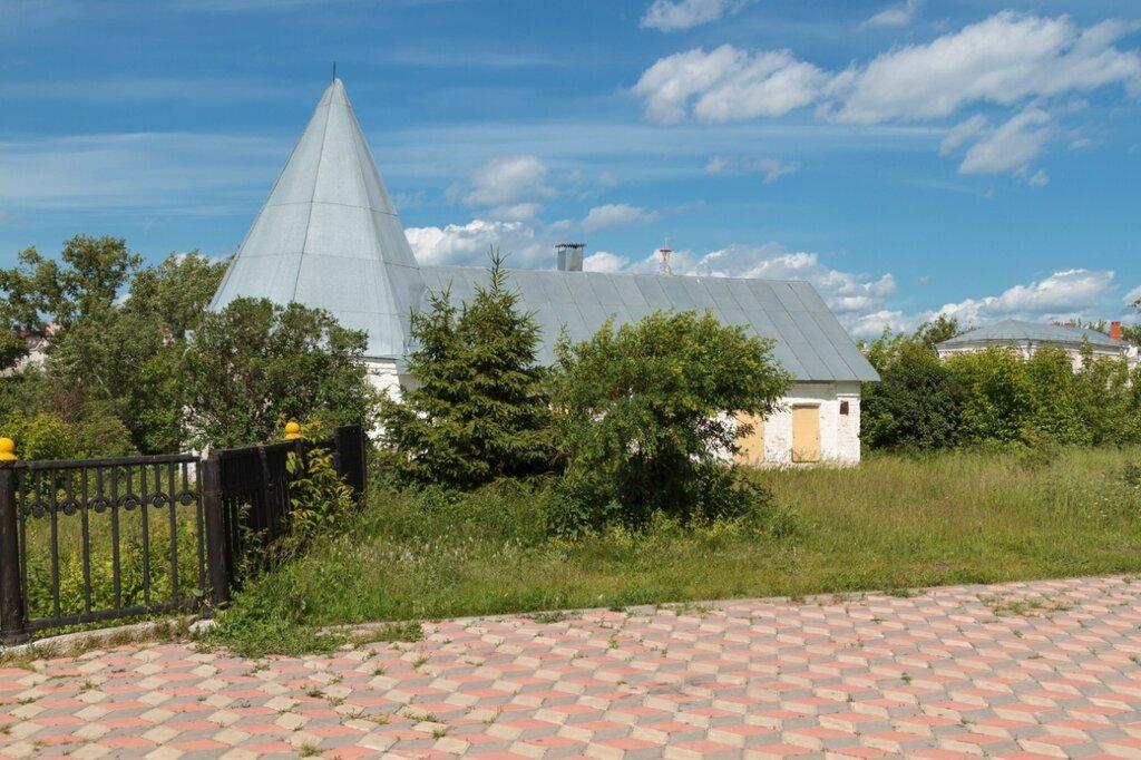 Башня ограды кон. XVII в. собора Троицы Живоначальной, Городец