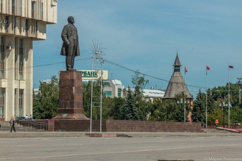 Памятник Ленину на площади Ленина, Тула