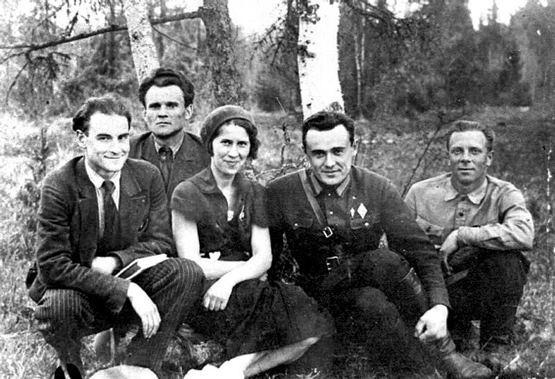 Сергей Королёв и группа Ракетного научно-исследовательского института (РНИИ). 1935 год