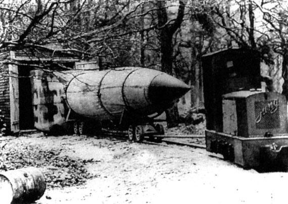 Трофейная немецкая ракета А4 - Фау-2