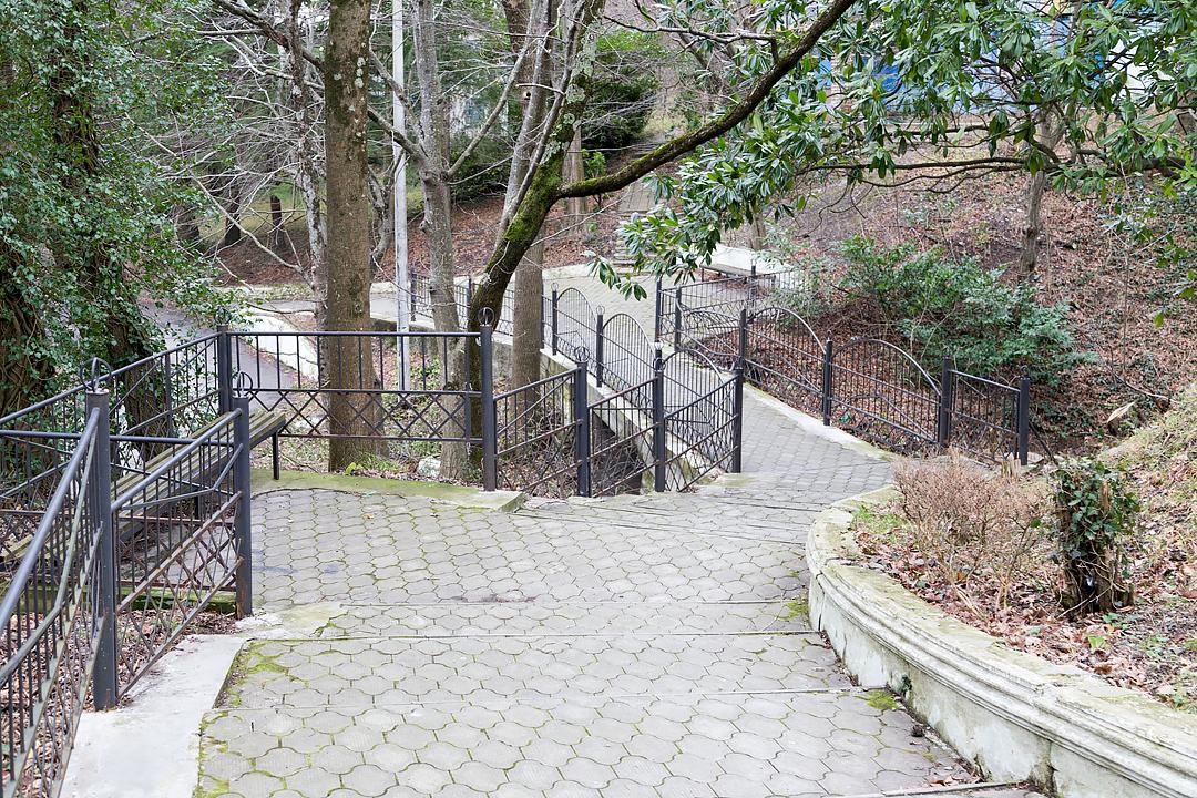 Лестница в Гизель-Дере