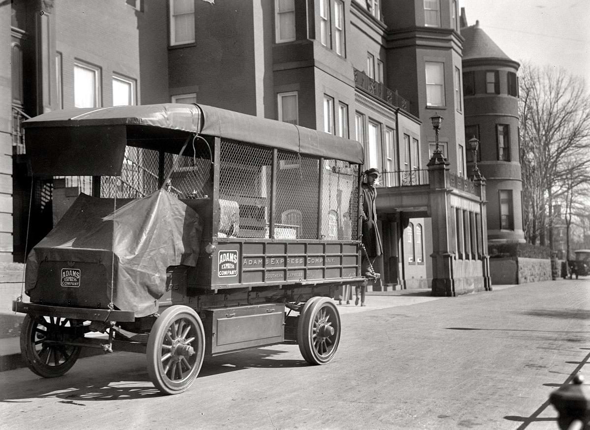 Специализированные транспортные средства начала 20-го века на снимках американских фотографов (18)