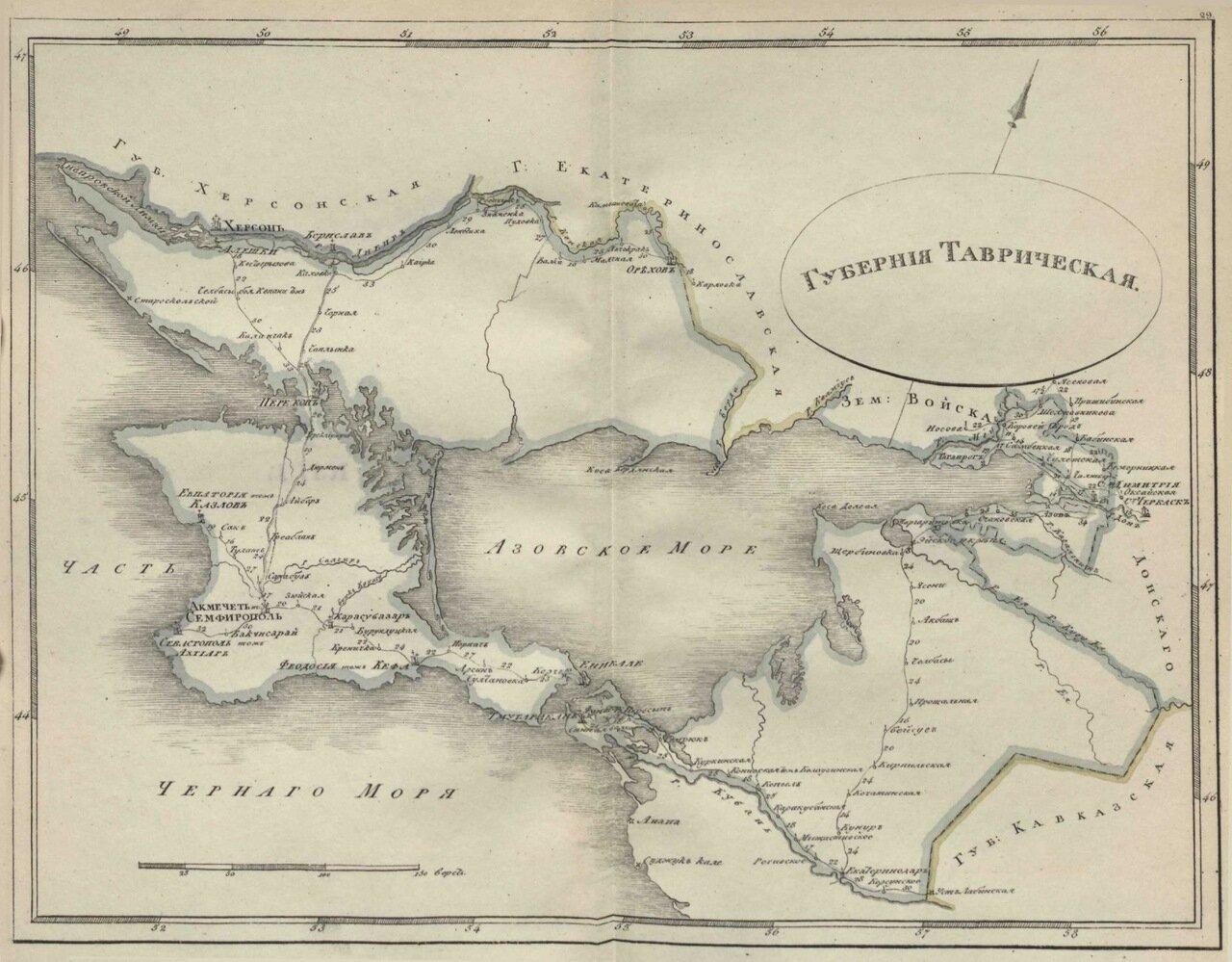 29.Таврическая губерния