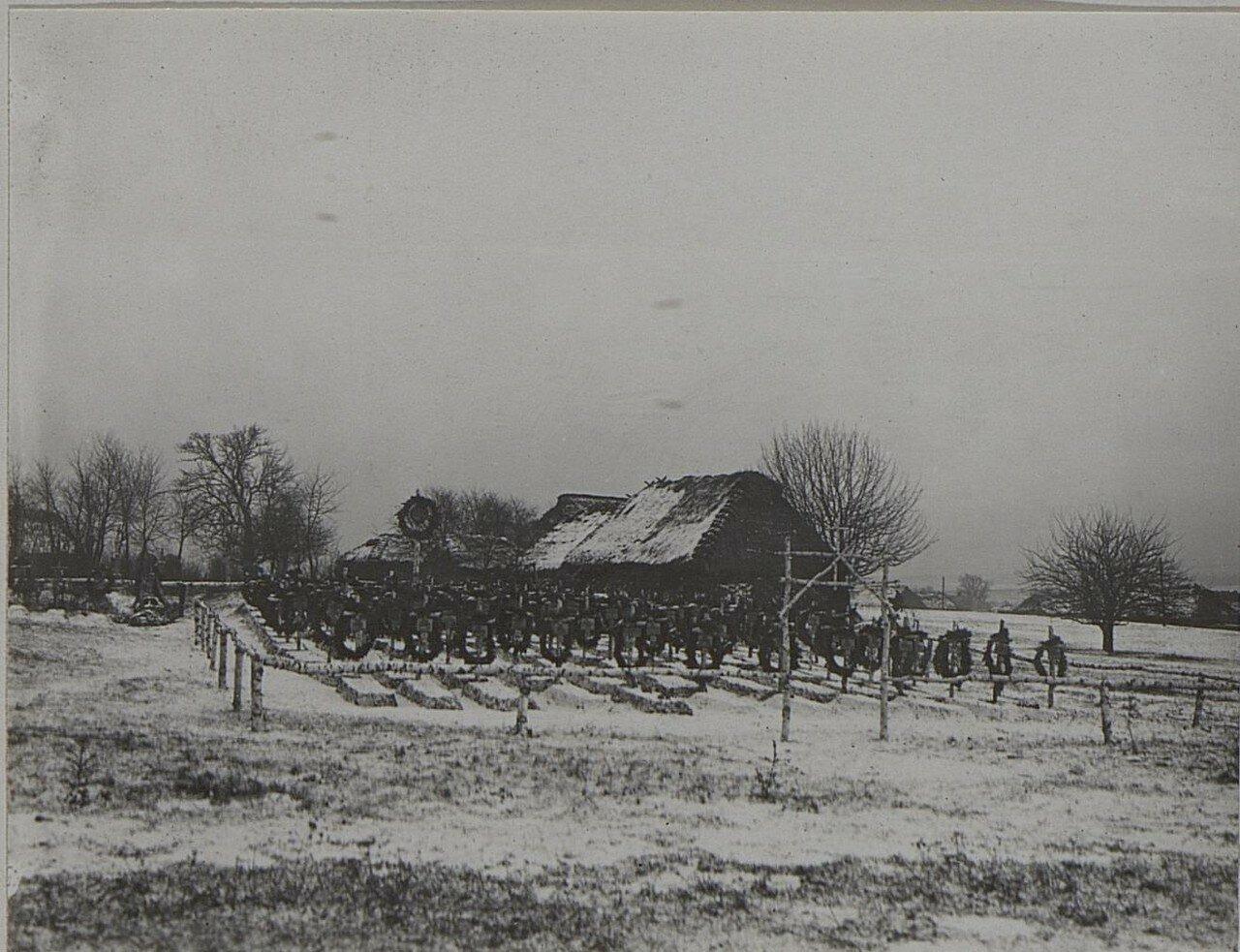 Крученица. Кладбище 13 пехотной дивизии
