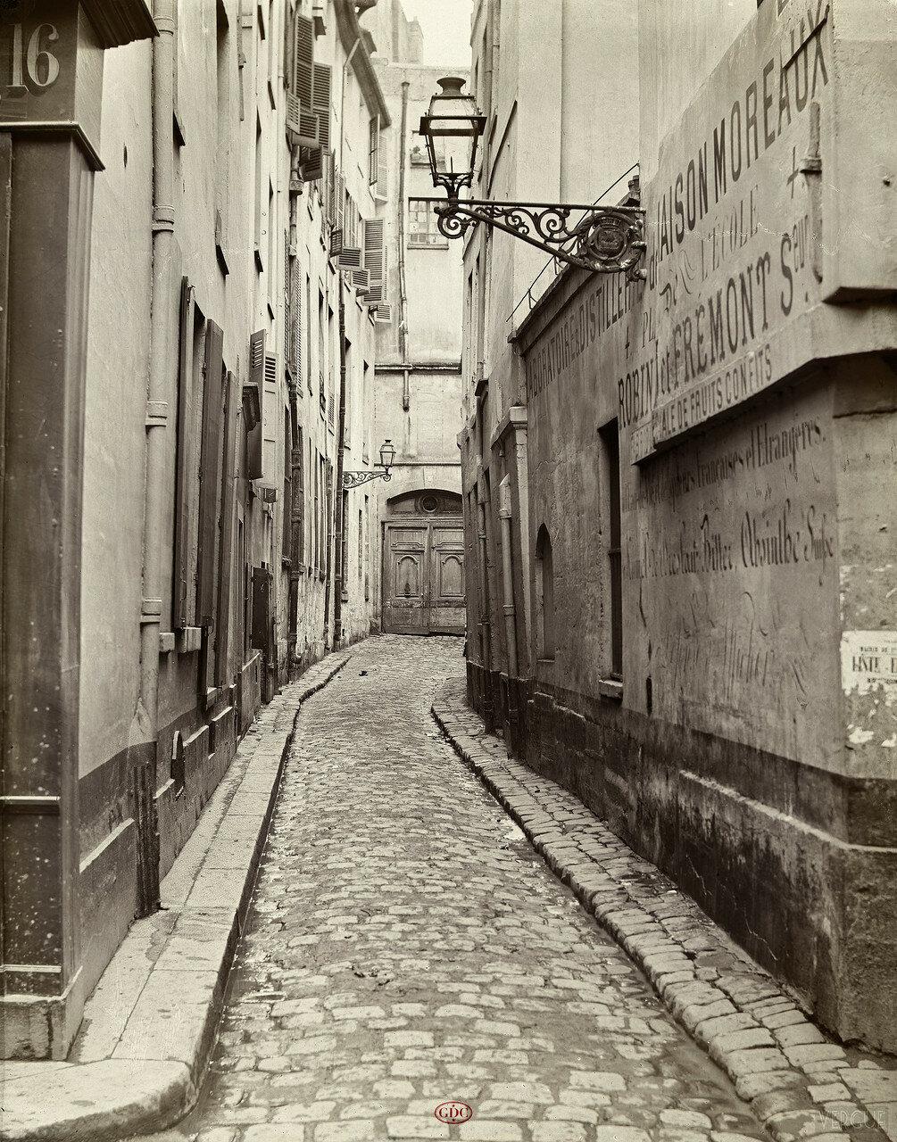 Тупик Провансаль. 1865