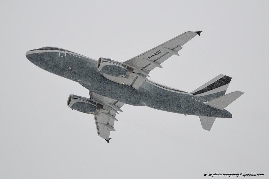 A-319 M-KATE в USPP