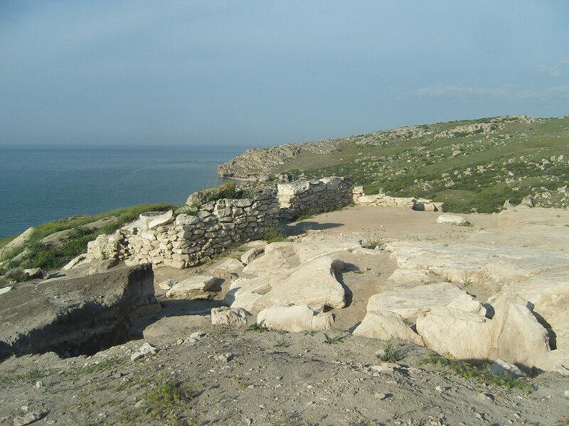 раскопки античного городища у Сююрташа