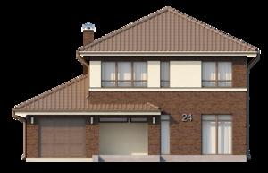 Фасады частного дома
