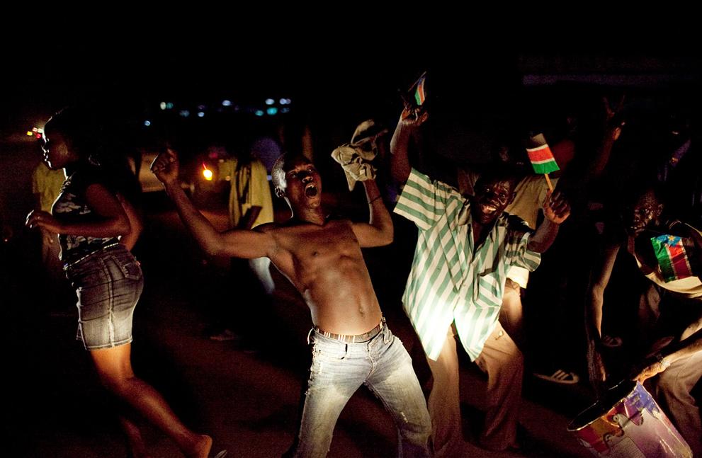 5. Жители Южного Судана празднуют День независимости. (AP Photo/Pete Muller)