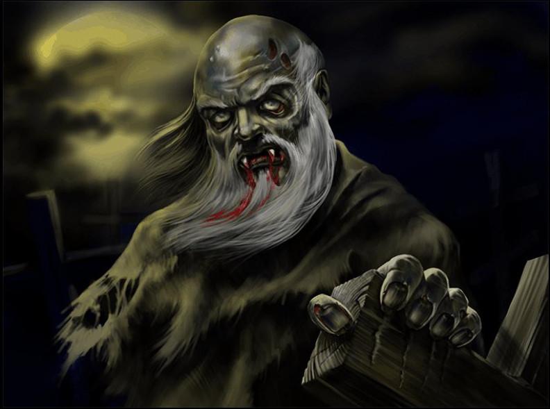 Упырь – живой мертвец, восставший из могилы. Внешне упыри практически ничем не отличаются от человек