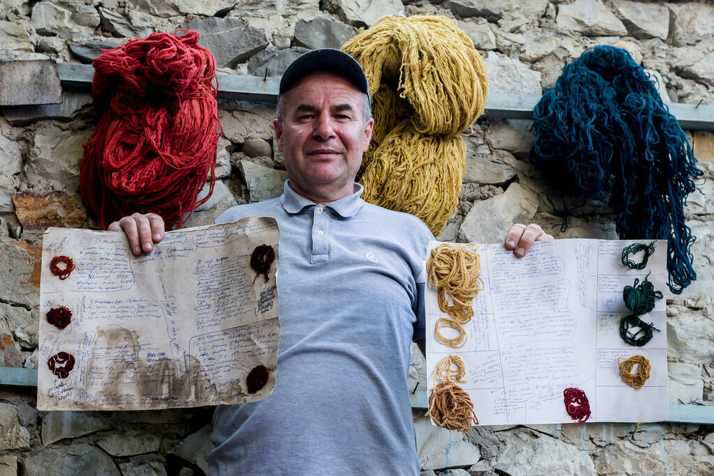 Как ткут ковры в Дагестане