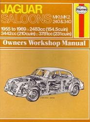 Книга Jaguar Mk1 & Mk2, 240 & 340 Saloons. Owners Workshop Manual