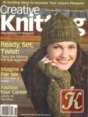 Книга Creative Knitting №11 2010