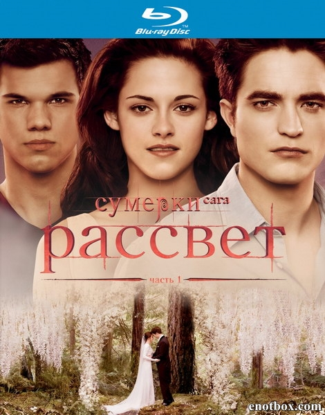 Сумерки. Сага. Рассвет: Часть1 / The Twilight Saga: Breaking Dawn - Part1 (2011/BDRip/HDRip)