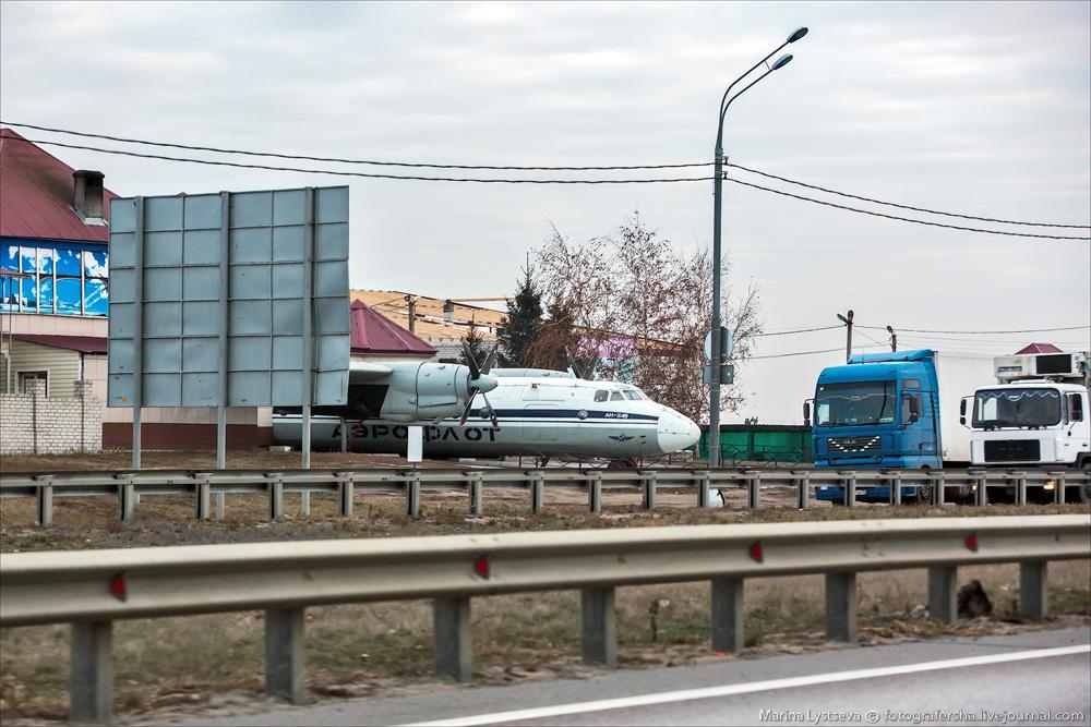 трасса М4 ДОН фото Липецк гостиница мотель отель Самолет
