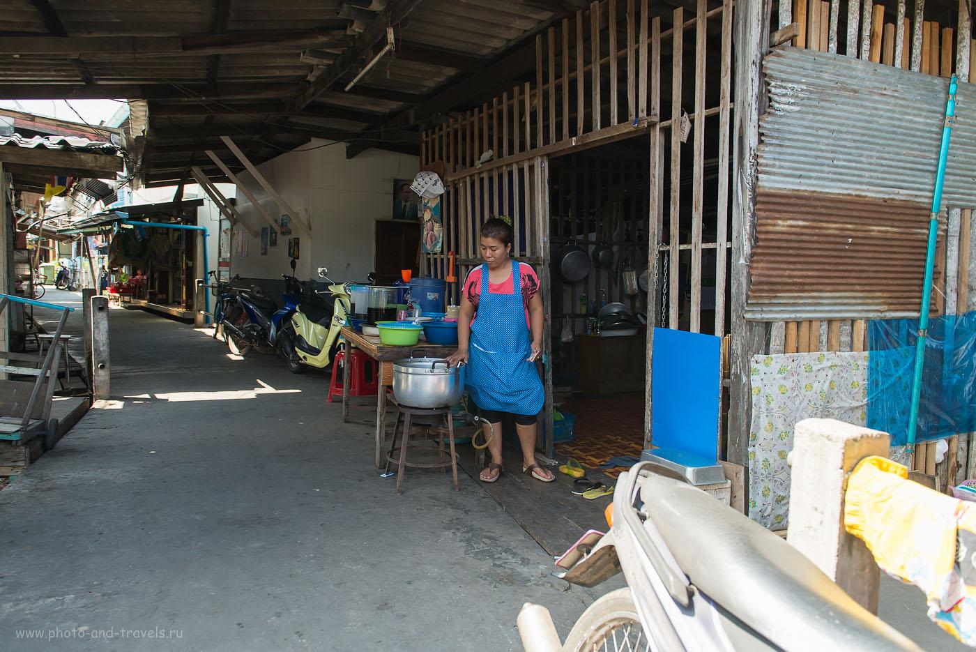 Фотография 22. Муж - на рыбалке, жена готовит. Такова жизнь в рыбацкой деревне. Отзывы об отдыхе в Таиланде (320, 24, 4.0, 1/320)
