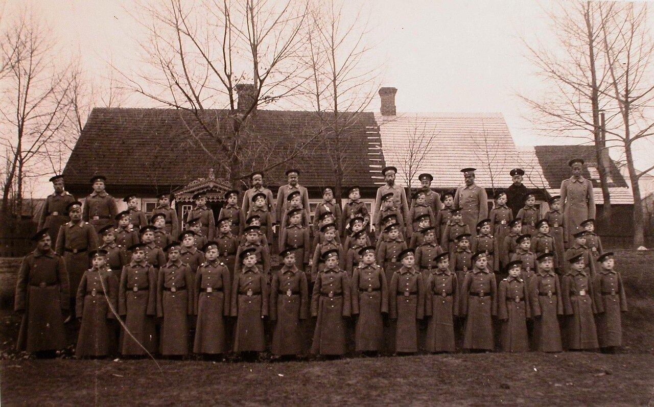 01. Группа потешных 110-го пехотного Камского полка