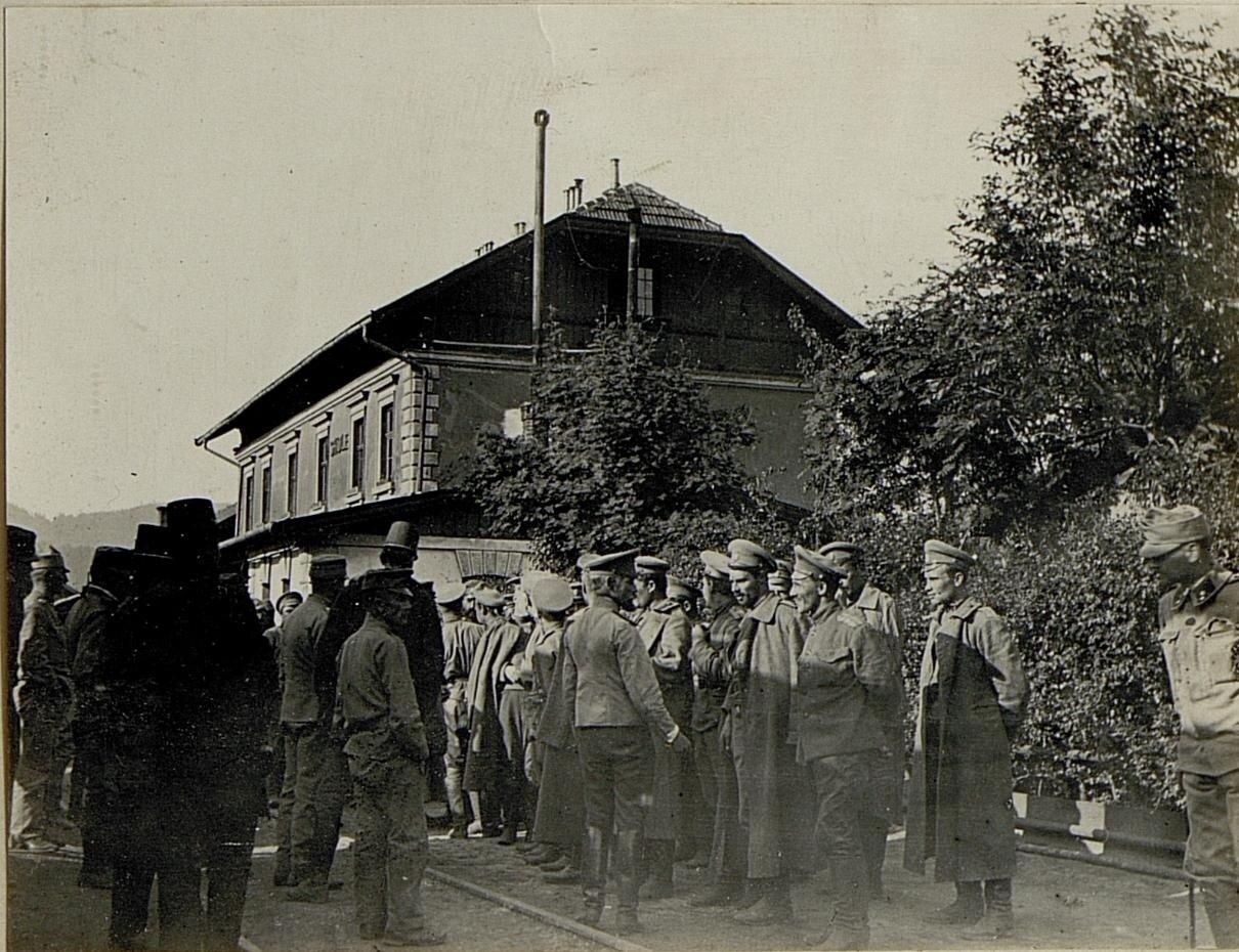 Русские военнопленные в Сколе