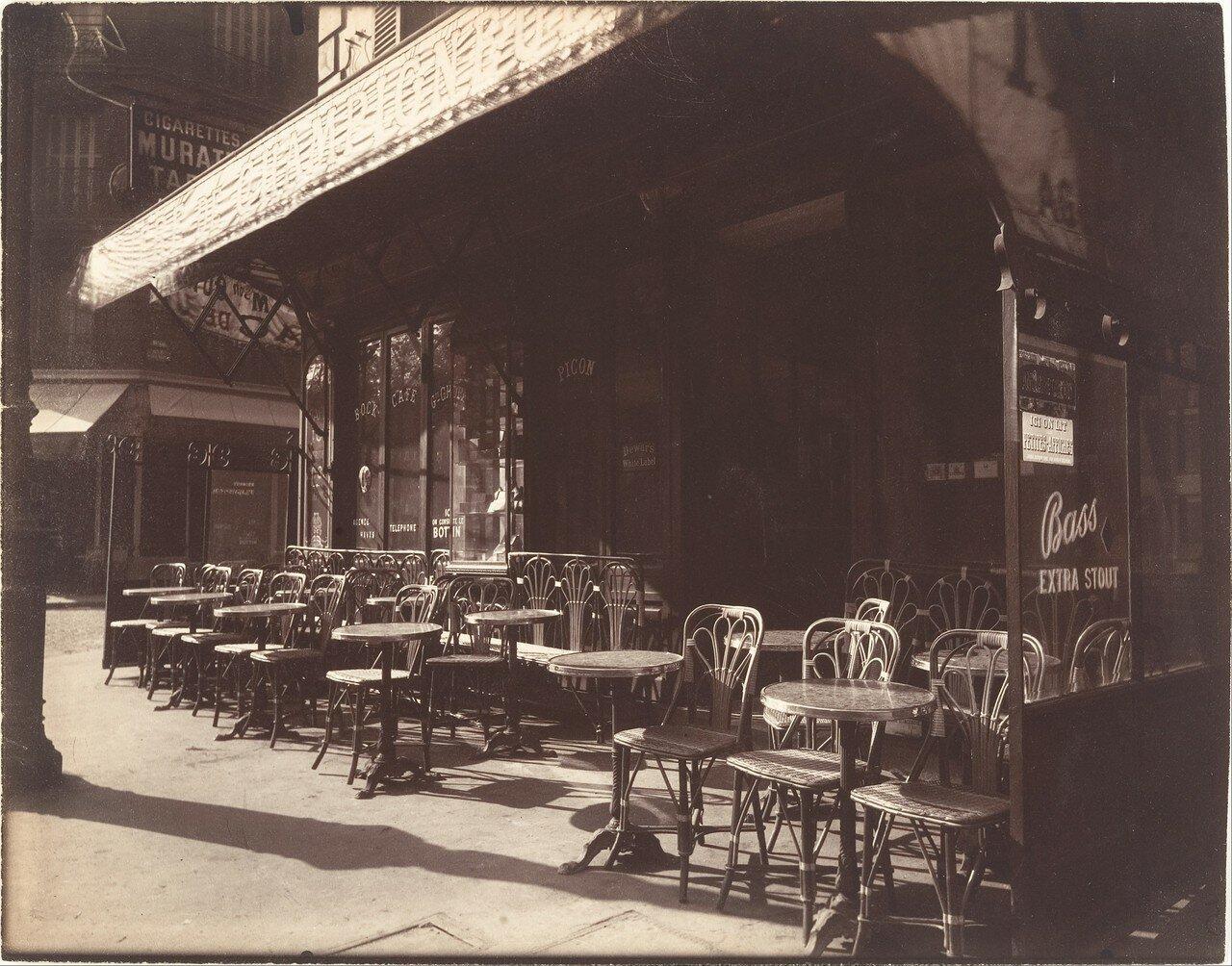 1924. Кафе, Авеню де ля Гранд Арме