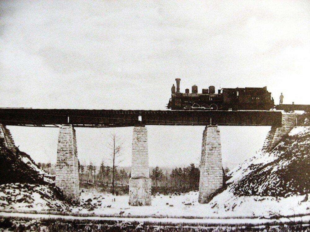 26. Железнодорожный  мост на 206-й версте