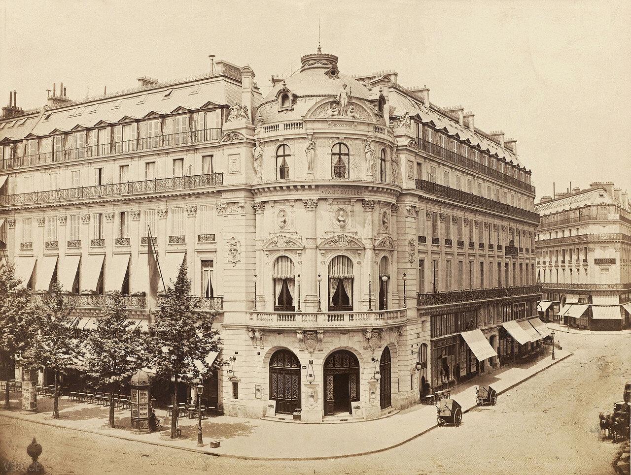 Театр Водевиль. 1868