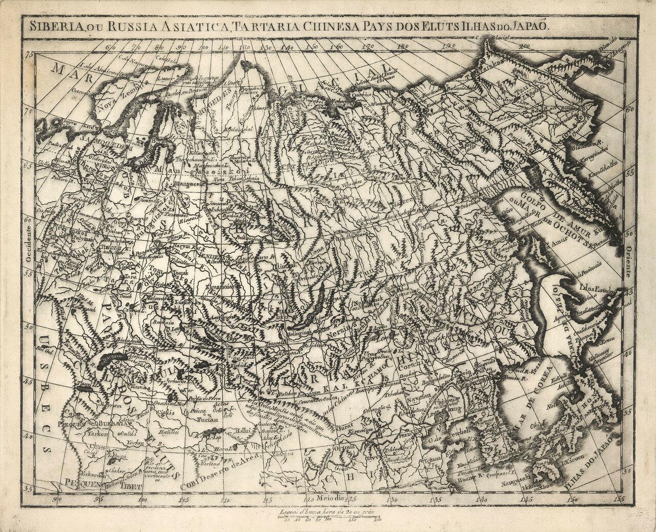 1799-1801. Карта Российской империи